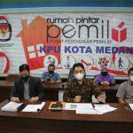 KPU Kota Medan Tetapkan Boby-Aulia dan Akhyar-Salman sebagai Pasangan Calon