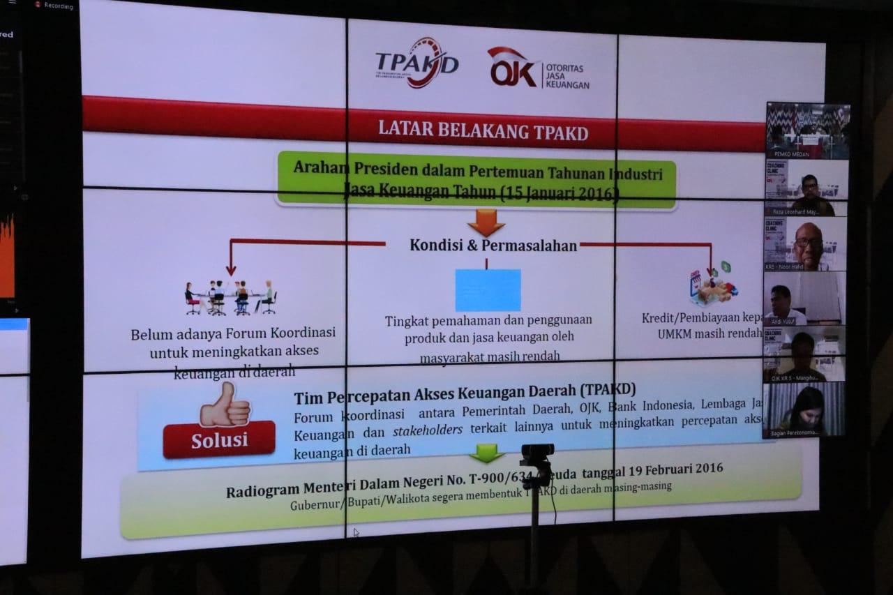 Pemko Medan Ikutin Coaching Clinik
