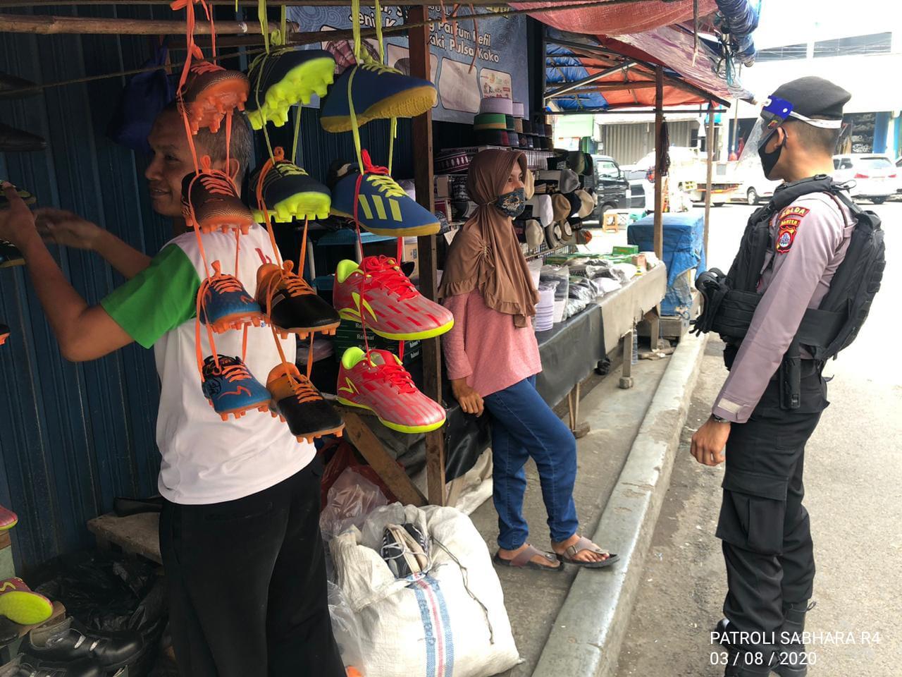Polda Banten Rutin Patroli Terapkan Protokol Kesehatan