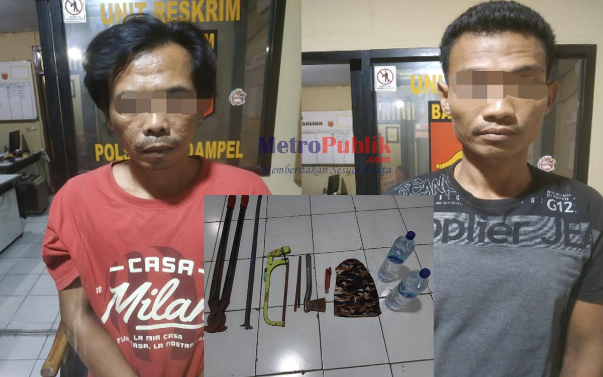 Polsek Puloampel Berhasil Bekuk 2 Palaku Pencurian dan Kekerasan