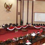 Rapat Paripurna DPRD Medan Tentang Penyampaian Reses Ketiga