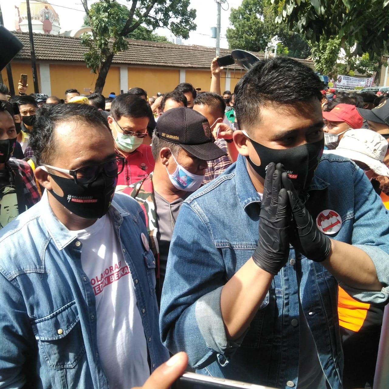 Resmi Daftar Cawalkot ke KPU Medan