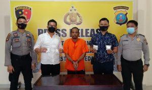 Ringkus Kurir Sabu Asal Aceh Timur