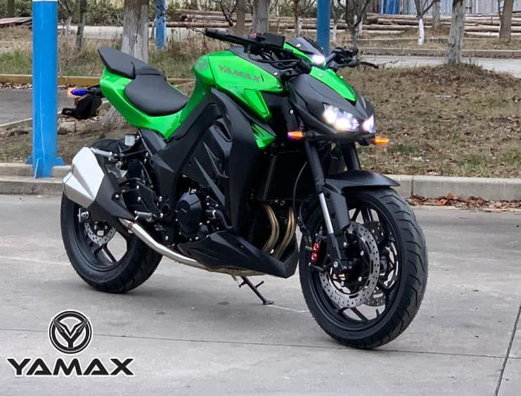 Hadir Motor Terbaru Yamax Z400