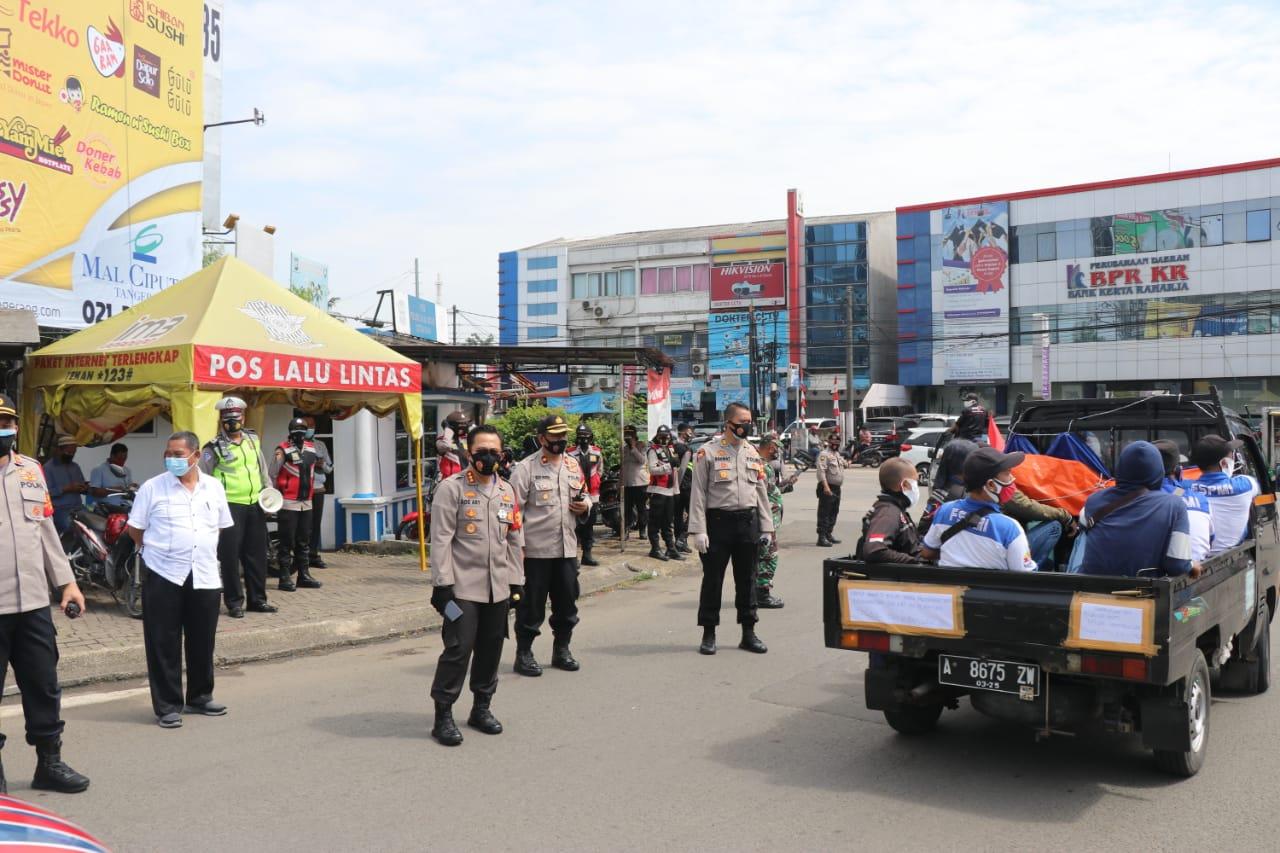 Polda Banten Kawal Aksi Unras