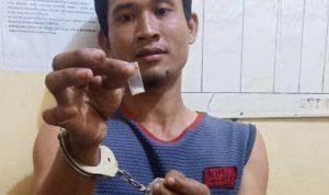 Usai Transaksi Sabu, Pria ini Diboyong Polisi