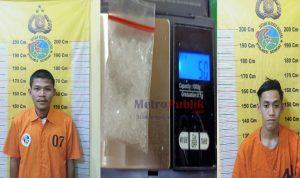 2 Orang Kurir Sabu Terancam 20 Tahun Penjara