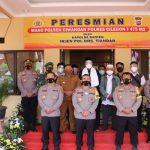 Dengan Prokes Ketat, Kapolda Banten Resmikan Mako Polsek Ciwandan