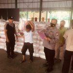 Polda Banten Salurkan 60 Ton Beras Bantuan Mabes Polri ke Polres Jajaran