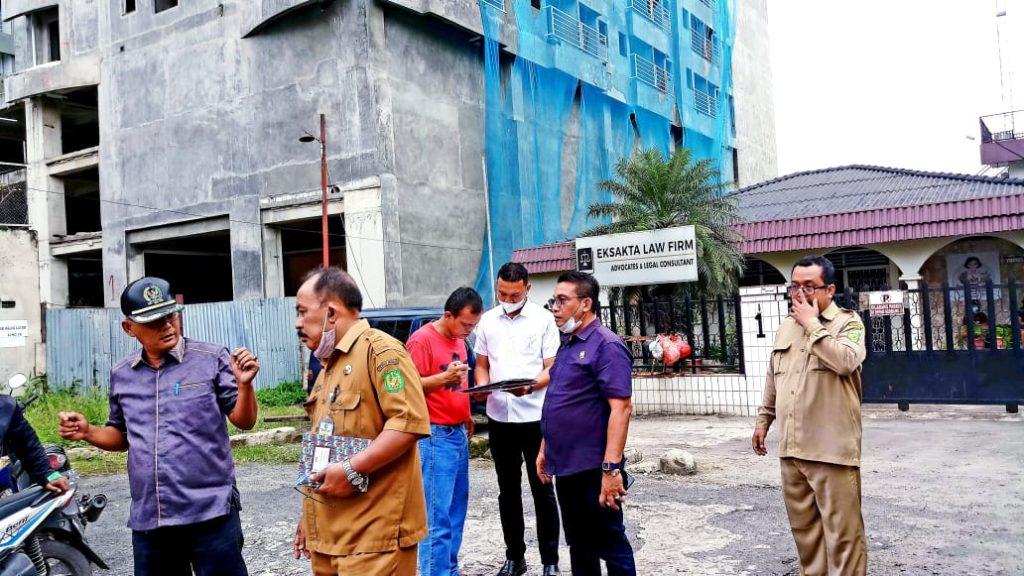 Ini Kata DPRD Medan Terkait Bangunan Mansyur Residence