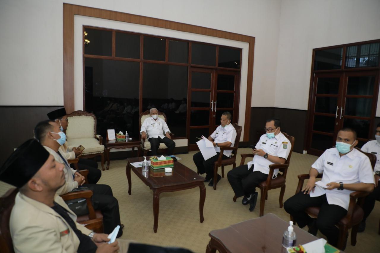 Pemuda Muhammadiyah Audensi dengan Bupati Asahan