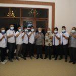 Pengurus Asosiasi Futsal Kabupaten Asahan Audensi dengan Bupati Asahan