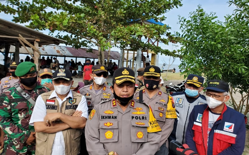 Putus Rantai Covid-19, Polres Batubara Siagakan Personil di Tempat Wisata