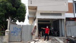 Bongkar Bangunan Diketahui Menyalah di Jalan Amal Luhur Medan