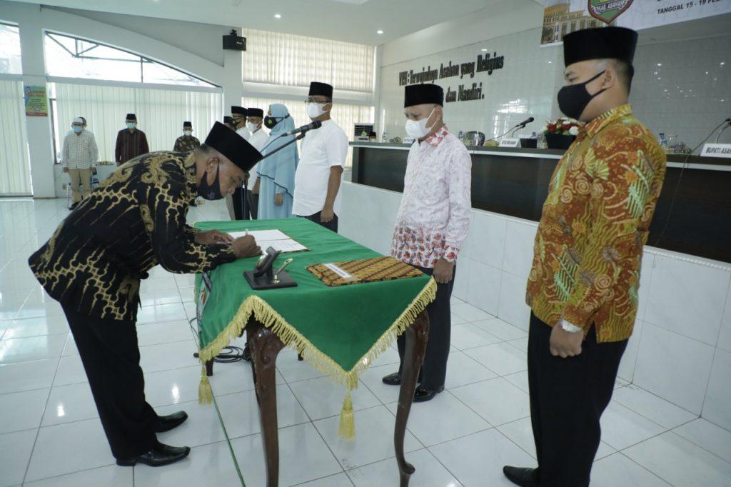 Bupati Asahan Lantik Dewan Pengawas dan Dewan Hakim MTQ ke-52