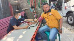 PAC Partai Hanura Medan Marelan Gelar Donor Darah