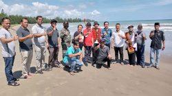 Anggota DPRD Sumut Penyabar Nakhe Kunjungi Pantai Somi