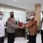 Kapolda Banten Pererat Sinergitas Kunjungi Rektor Untirta