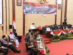 Ketua DPRD Medan Buka Rapat Pidato Perdana Wali Kota