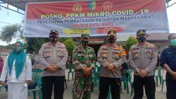 Polres Batubara Berlakukan PPKM Bagi Masyarakat Penerima BST