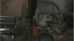 Diduga Korsleting, Mobil Trado Terbakar di Ruas Jalan Tol Sei Rampah
