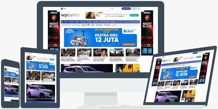 Theme Website Berita Terpopuler dan Terlaris di Tahun 2021