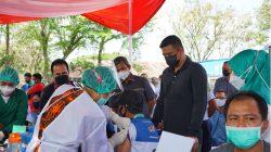 Tinjau Pelaksanaan Vaksinasi Covid-19, Wali Kota Medan Apresiasi Antusias Pedagang