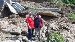 Akibat Hujan Deras Destinasi Wisata Budaya Batu Megalit Gowe Duada Ho Longsor