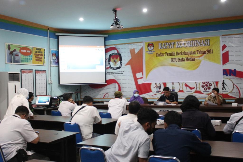 KPU Medan Gelar Rakor Daftar DPB
