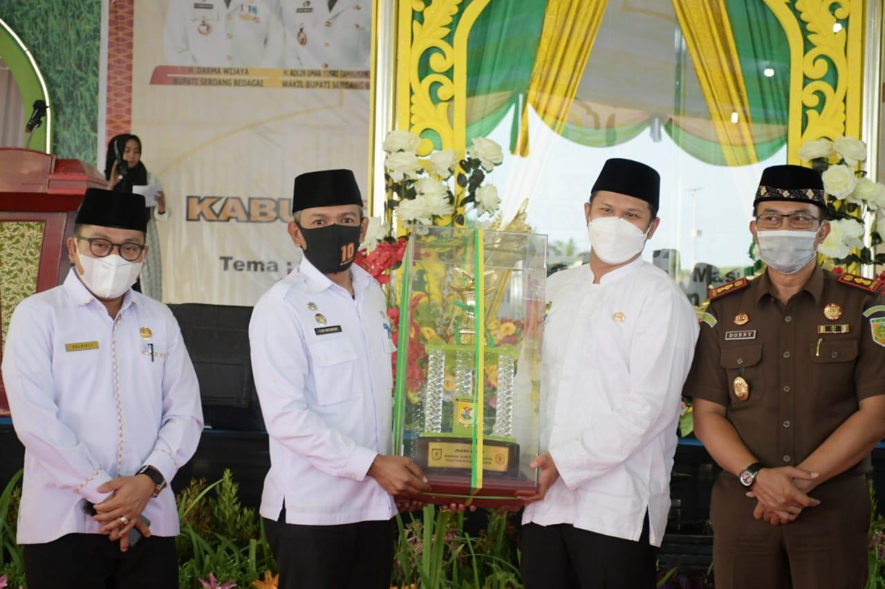 MTQH ke-XVII Kabupaten Sergai Resmi Ditutup