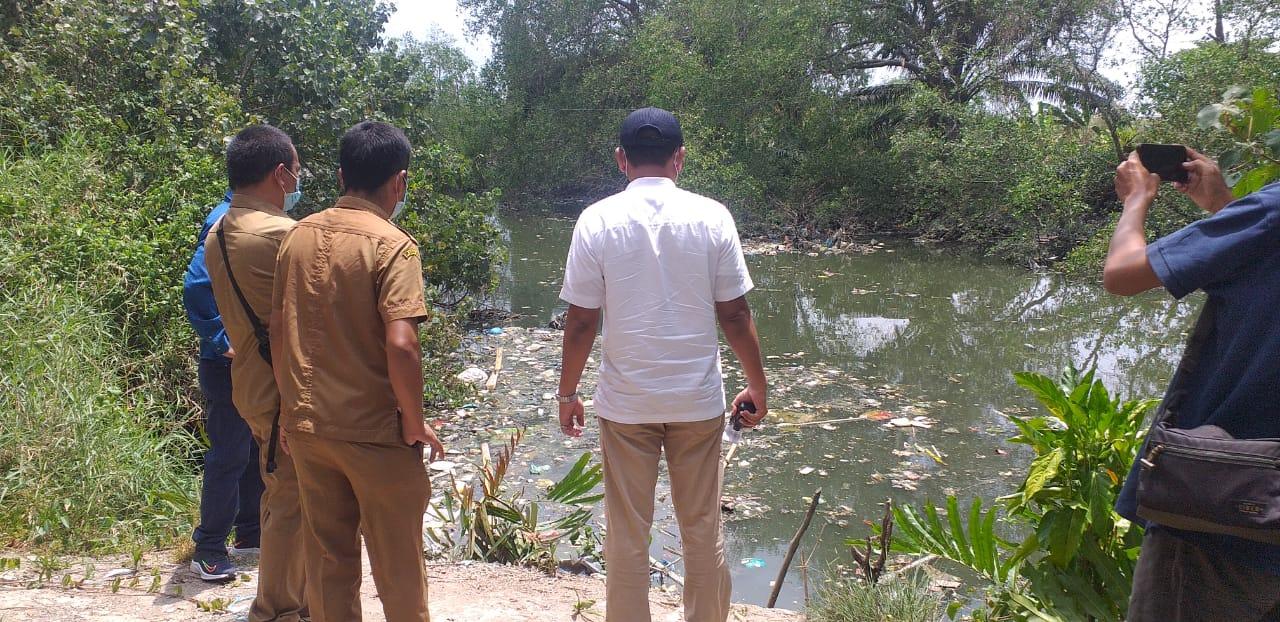 DLH Sumut Akan Mengusut Sampah di Sungai Bedera