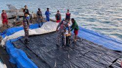 TNI-AL Gagalkan Penyelundupan Ribuan Kardus Rokok ke Thailand