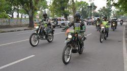 Tingkatkan rasa aman, Pangdam I/BB Patroli Keliling Kota Medan