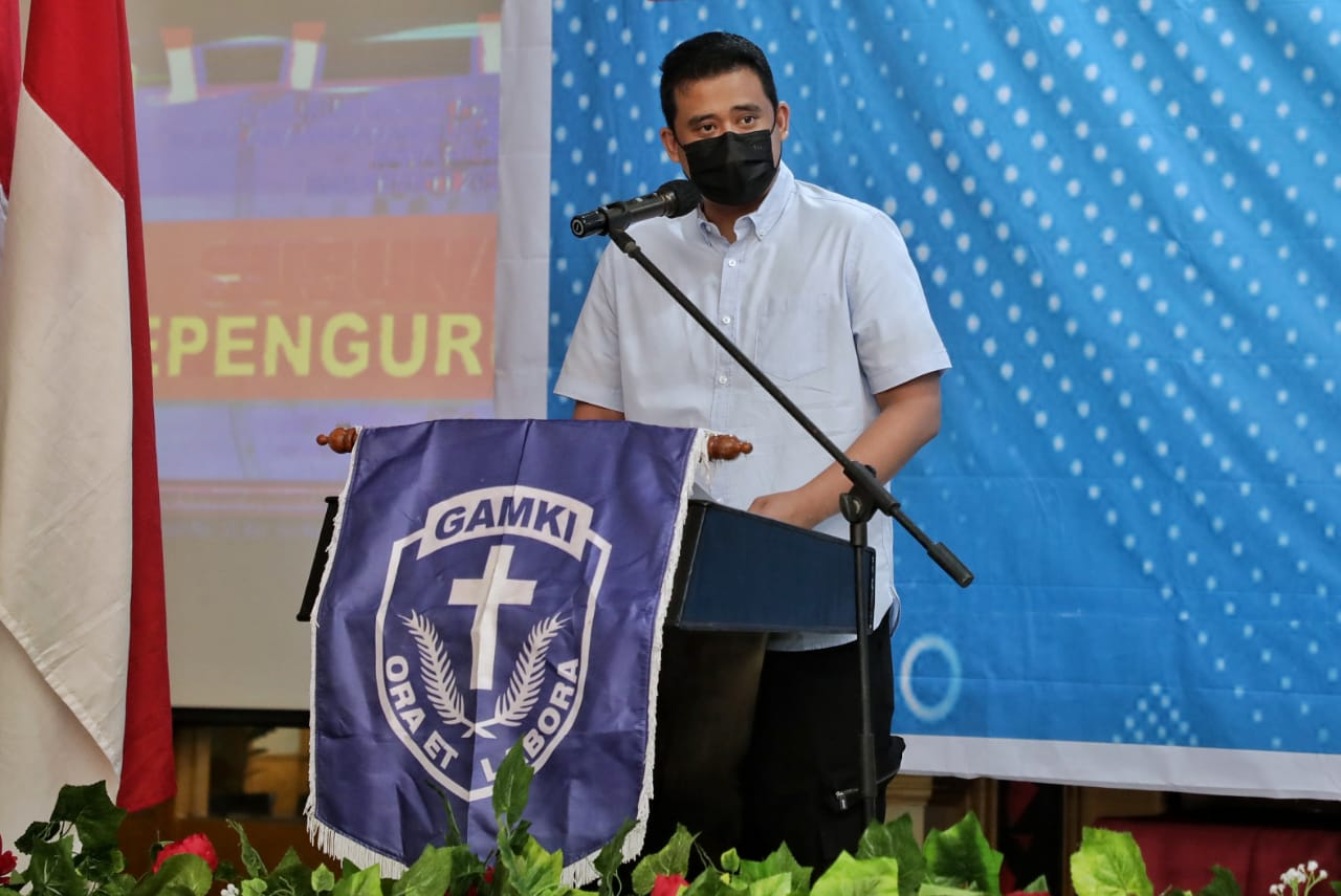 Wali Kota Medan Ajak GAMKI Berkolaborasi Tekan Penyebaran Virus Covid-19