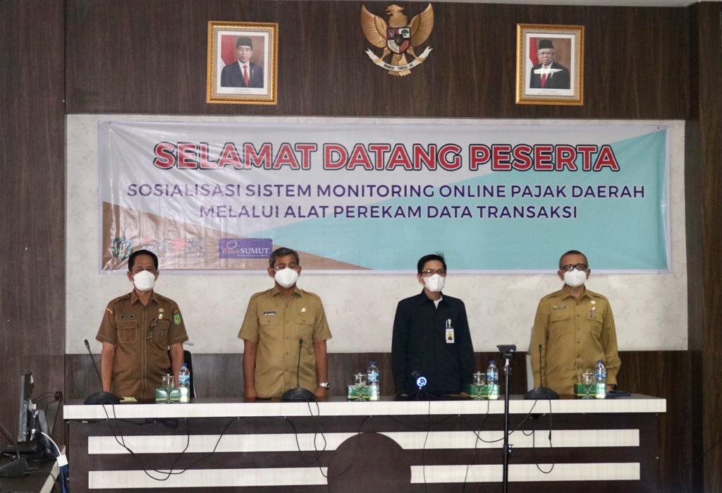 Pemko Sosialisasikan Sistem Monitoring Online Pajak Daerah