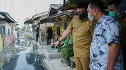 Wali Kota Medan Tinjau Jalan Rusak dan Genangan Air di Medan Amplas