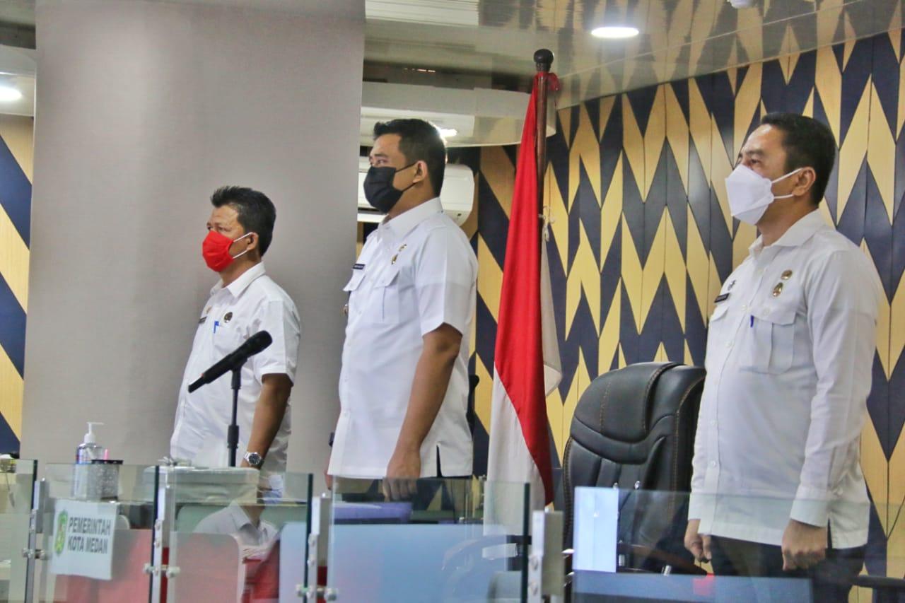 Wali Kota Medan Prioritaskan Lansia dan Petugas Pelayanan Publik Untuk Vaksinasi Covid-19