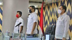 Wali Kota Medan Ikutin Pembukaan Rakornas Penanggulangan Bencana Tahun 2021 Secara Virtual