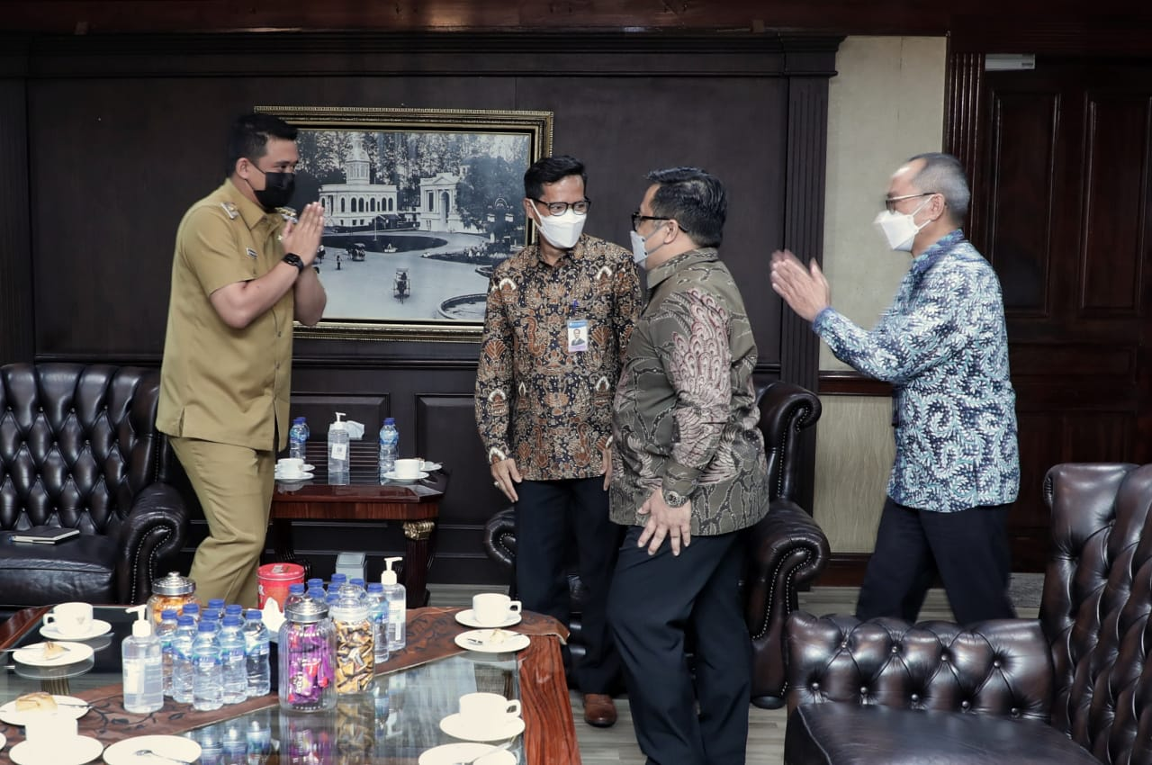 Wali Kota Medan Siap Berkolaborasi dengan Bank Indonesia Provinsi Sumut