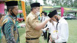 Wabup Asahan Lepas Peserta Didik Kelas IX MTs Al-Wasliyah 64 Pasar Lembu