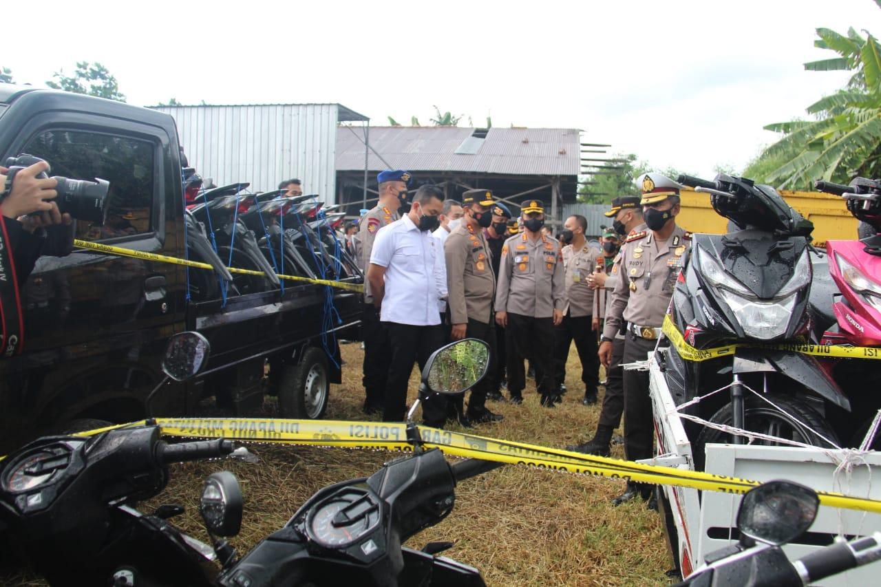 Hati Hati Membeli Kendaraan Murah Lewat Online, Polres Pati Jateng Berhasil Ungkap 325 Unit Motor dan 41 Mobil Bodong