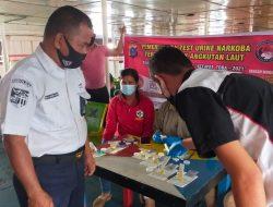 Operasi Ketupat Toba 2021, 8 Pengemudi Positif Narkoba