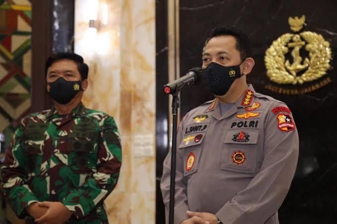 Panglima dan Kapolri Beri Arahan Khusus Kepada Anggota TNI-Polri yang Bertugas di Papua