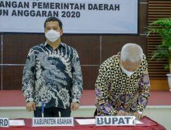 Pemkab Asahan Raih Opini WTP Dari BPK RI 4 Tahun Berturut-Turut