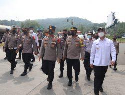 Peniadaan Mudik, Wakapolda Banten dan Wakil Gubernur Cek Pelabuhan Merak