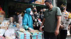 Pastikan Prokes Berjalan, Wali Kota Bersama Kapolrestabes dan Dandim Tinjau Pusat Pasar