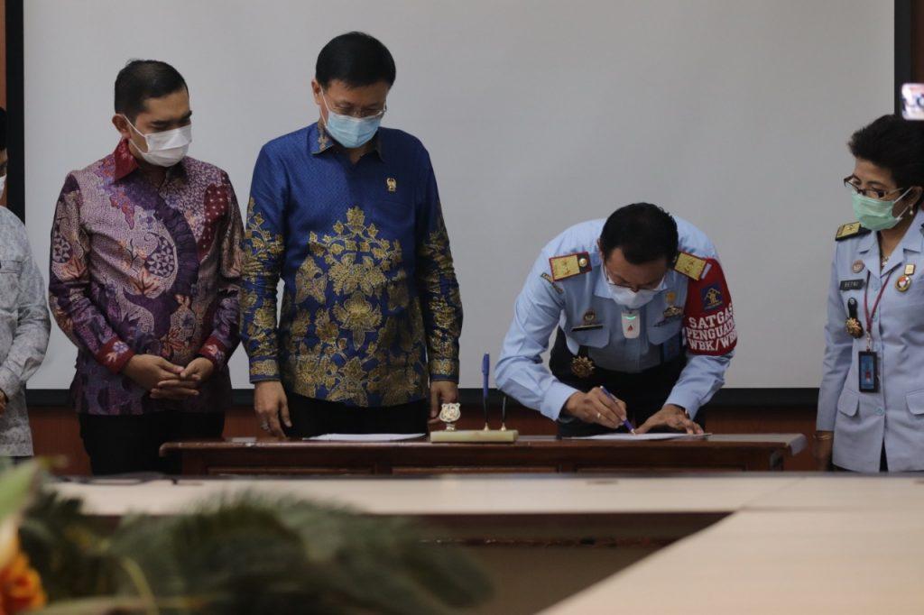 DPRD Medan dan Kemenkumham Sumut MoU