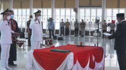 Gubernur Sumut Lantik Bupati dan Wakil Bupati Nias Periode 2021 - 2024