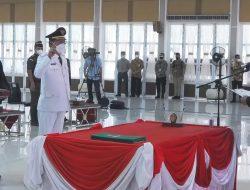 Gubernur Sumut Lantik Bupati dan Wakil Bupati Nias Periode 2021 – 2024