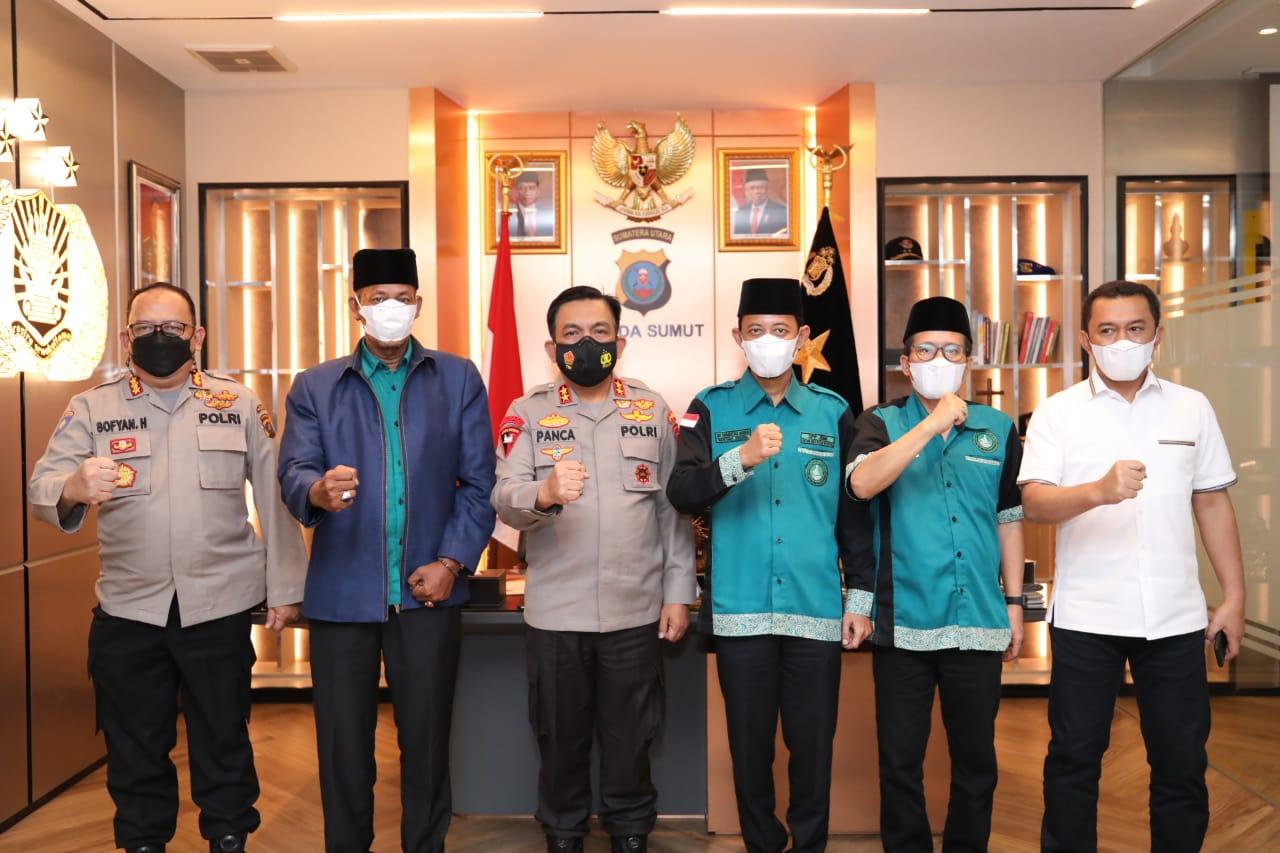 Kapoldasu Ajak DPP JBMI Mendukung Pelaksanaan Vaksinasi Massal